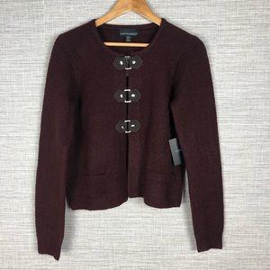 Cynthia Rowley Boxy Sweater Jacket